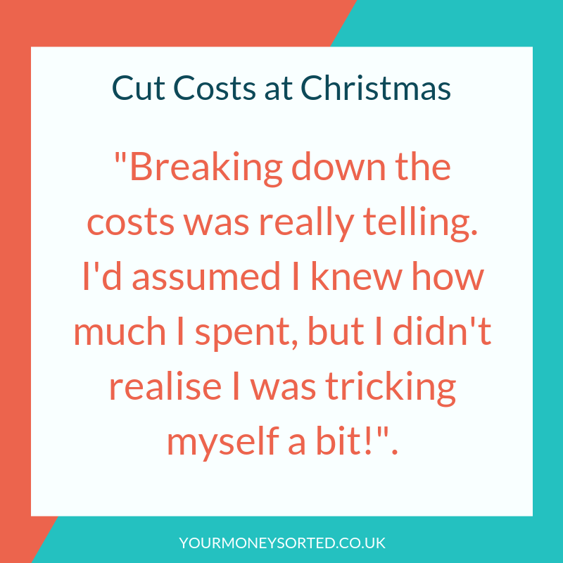 spend less at christmas