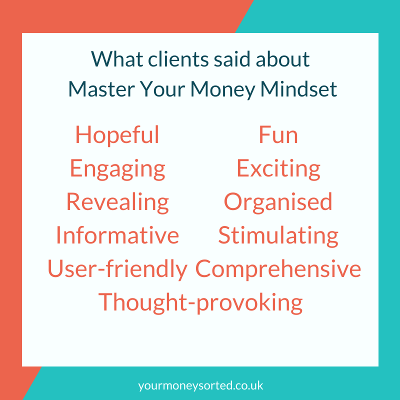 Master your money mindset course