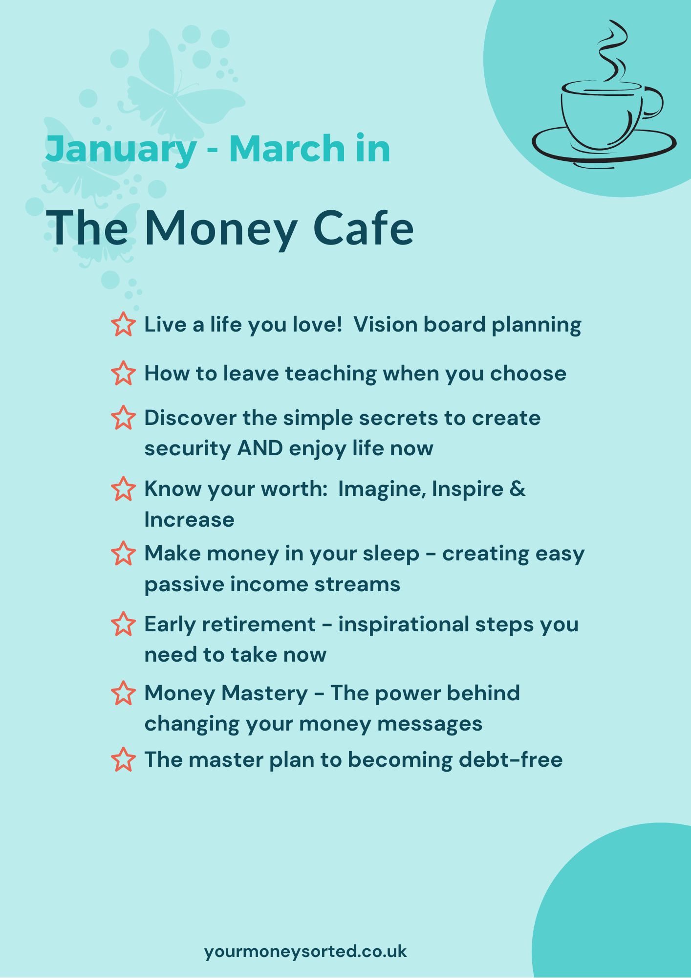 the money cafe content