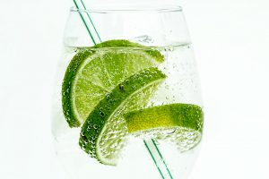 gin in a glass