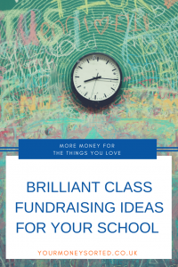 Brilliant school fundraising ideas. Here are 8 ways you could help your school raise money. #TeachersMoney #MakeMoney #Fundraising #FundraisingIdeas #FundraisingIdeasForSchool #FundraisingIdeasForKids