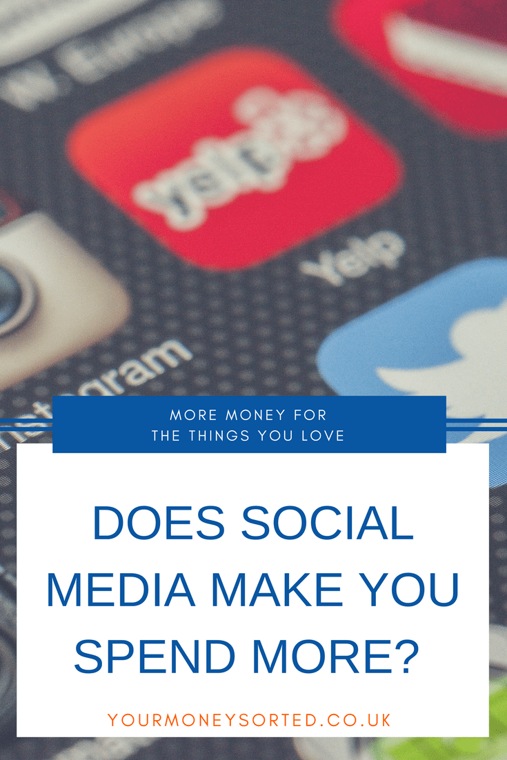 Does Social Media Make You Spend Money